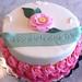 Shabby chic flowers - <span>©CupCakeBite www.cupcakebite.com</span>