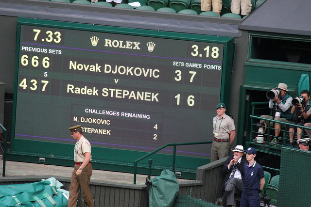 Djokovic vs Stepanek