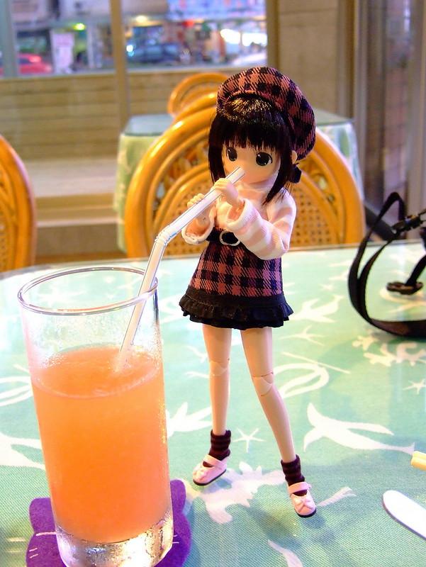 晚餐_瓜仔肉飯&葡萄柚汁_米米_B_02