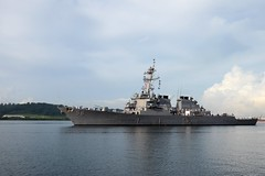 USS John S. McCain (DDG 56) arrives in Subic Bay June 26 for exercise Cooperation Afloat Readiness and Training (CARAT) Philippines 2014. (U.S Navy/MC1 Jay C. Pugh)