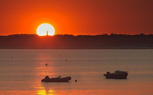 sunset canon soleil bretagne 600d