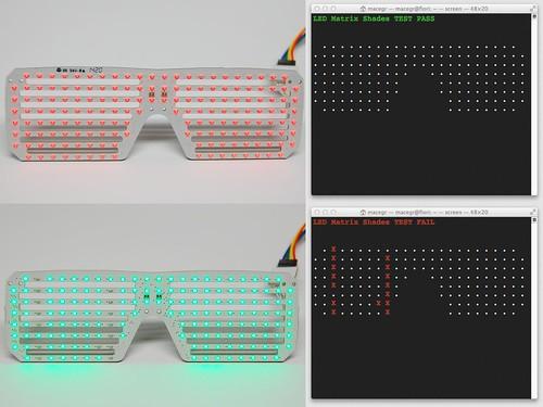 LED Tester Serial Monitor
