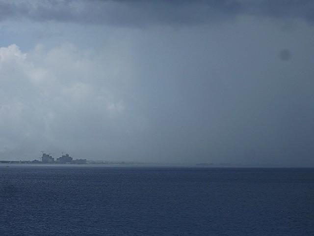 Rain on the Ocean