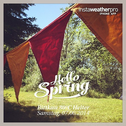 Enjoy camping with friends.  #weather #wx #sky #outdoors #nature #world #love #beautiful  #fun #cool #life #nice #bittkau #deutschland #day #spring #clear #de