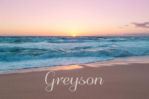 Greyson's Pastel Sunset