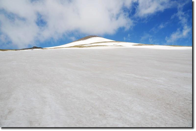 James Peak false summit from east slope 2