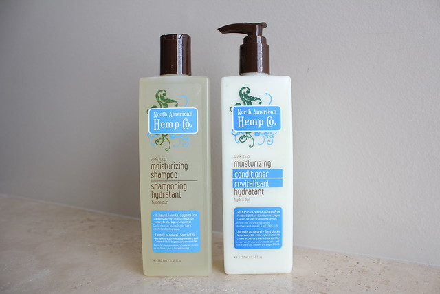 North American Hemp Co. Moisturizing Shampoo and conditioner review