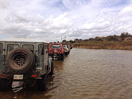 Roundup 2014 river crossing