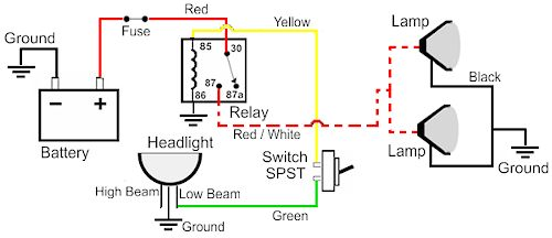 relay wiring question for led light bar ford f150 forum community of ford truck fans