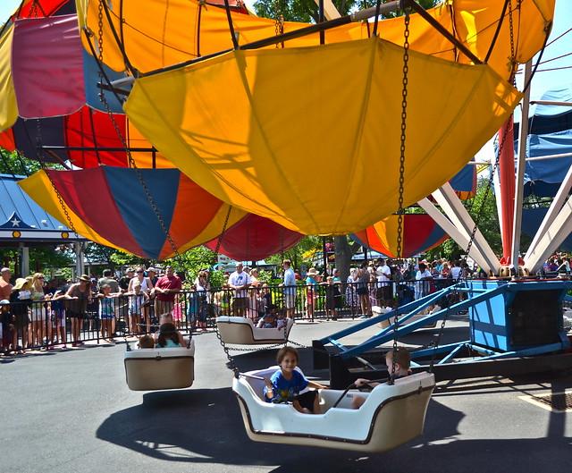 kiddie ride - Hershey Park PA USA
