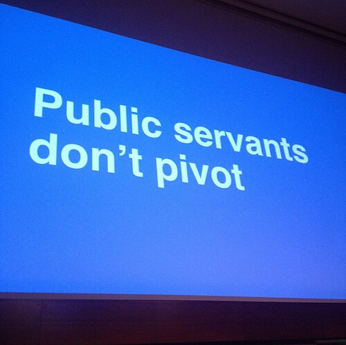 public servants don't pivot