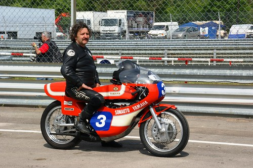 Christophe Bogula (Yamaha TZ350 1973, ex-Patrick Pons)