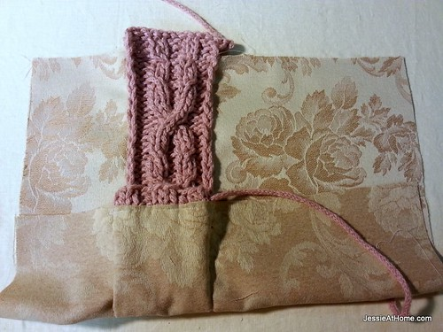 Cable-sewn-on-cover