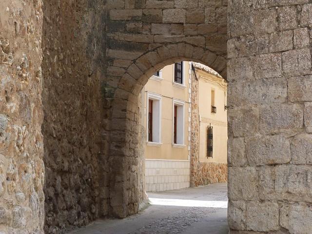 Arco de Azogue en Urueña (Valladolid)