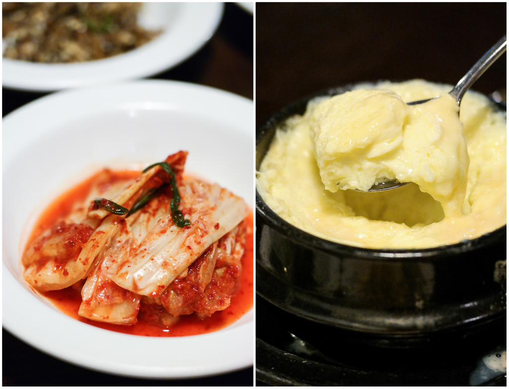 Dal-In Korean Restaurant's banchan (or side dishes)