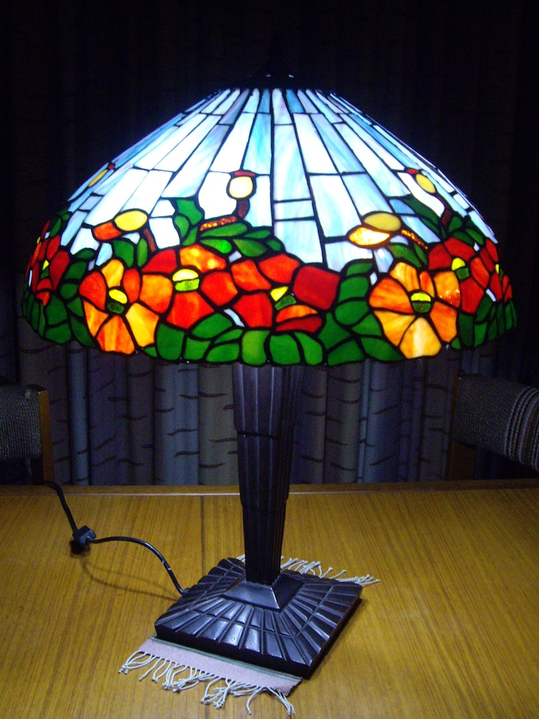 Tiffany Lampshade 'Poppy' design