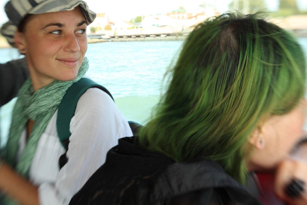 green hair 15