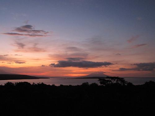 sunset from the Tower @ Menjangan