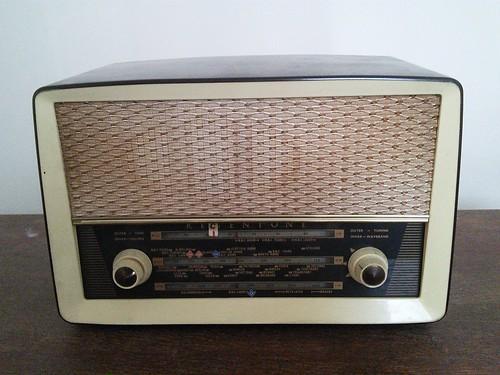 regentone valve radio