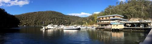 panorama water boats bush hawkesburyriver boatmarina waterviewrestaurant berowrawatersmarina 2014pad berowacreek