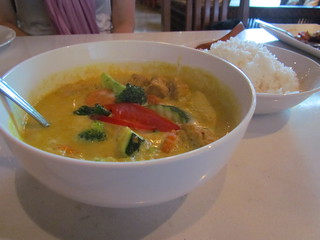Yellow Curry at Araya's