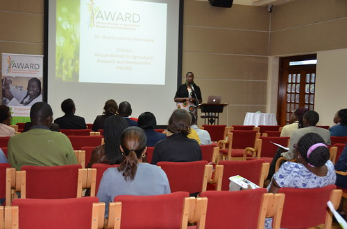African Women in Agricultural Research and Development (AWARD) seminar