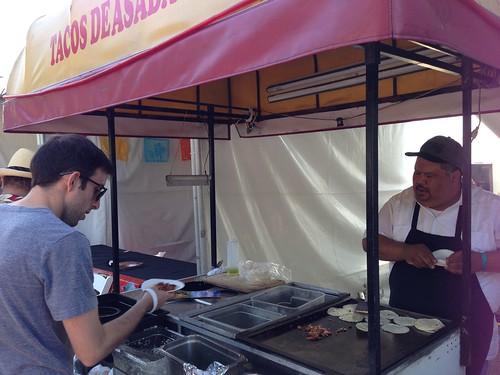 Tacos Deseadas at Tacolandia