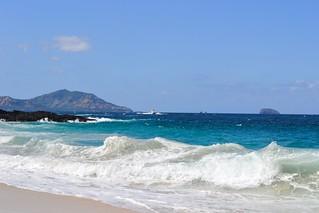 Image of White Sand Beach White Sand Beach near Banjar Wangsian.