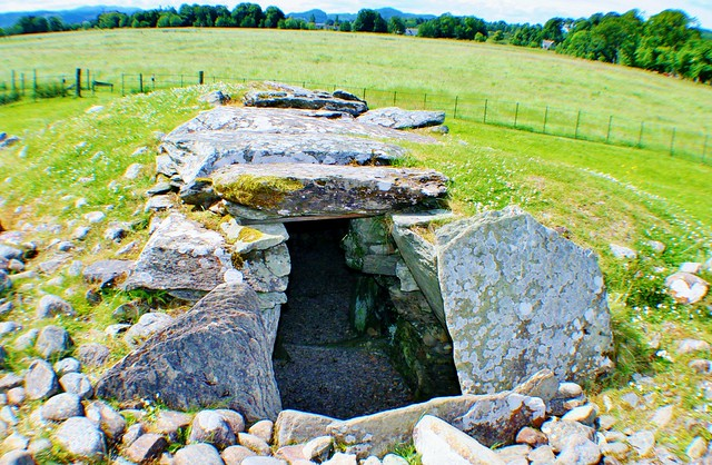 Nether Largie South Burial Cairn, Kilmartin Glen, Scotland