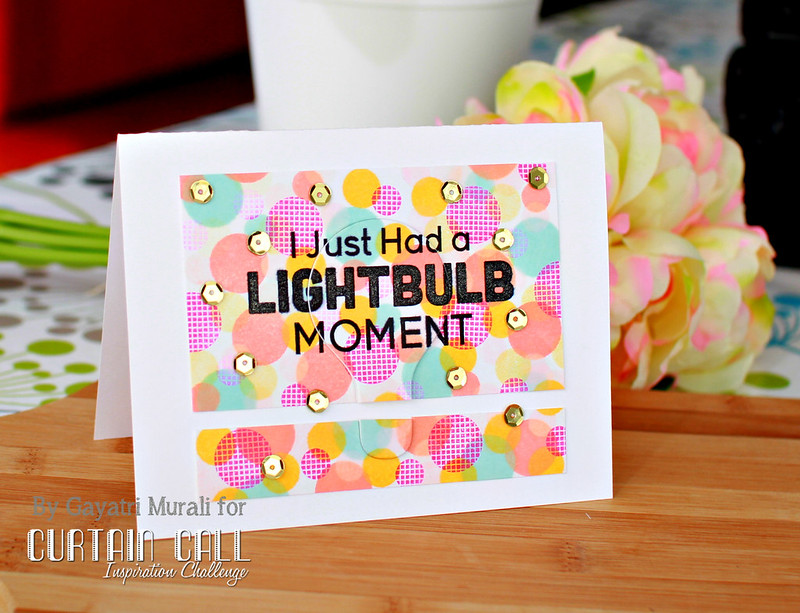 Lightbuble card