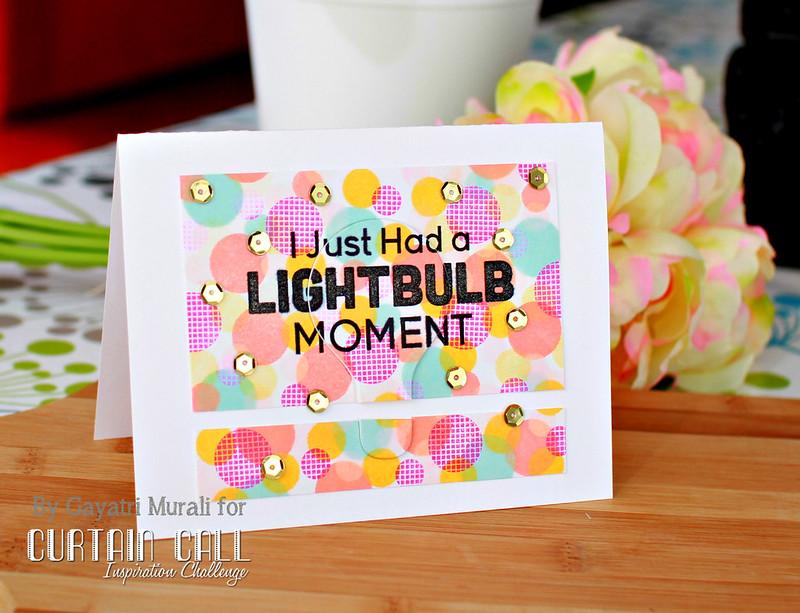 Lightbuble card