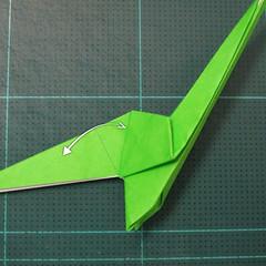 วิธีพับกระดาษเป็นรูปหอยทาก (origami Snail) 020