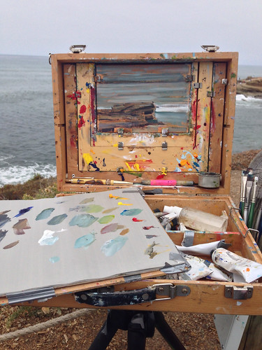 Painting in Cabrillo