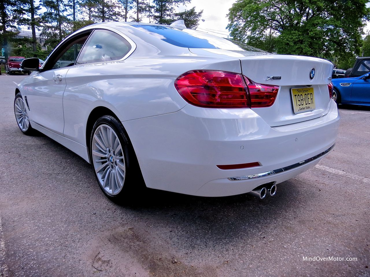 BMW 428i Left Rear