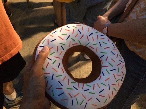 Plush Donut #HersheyPark