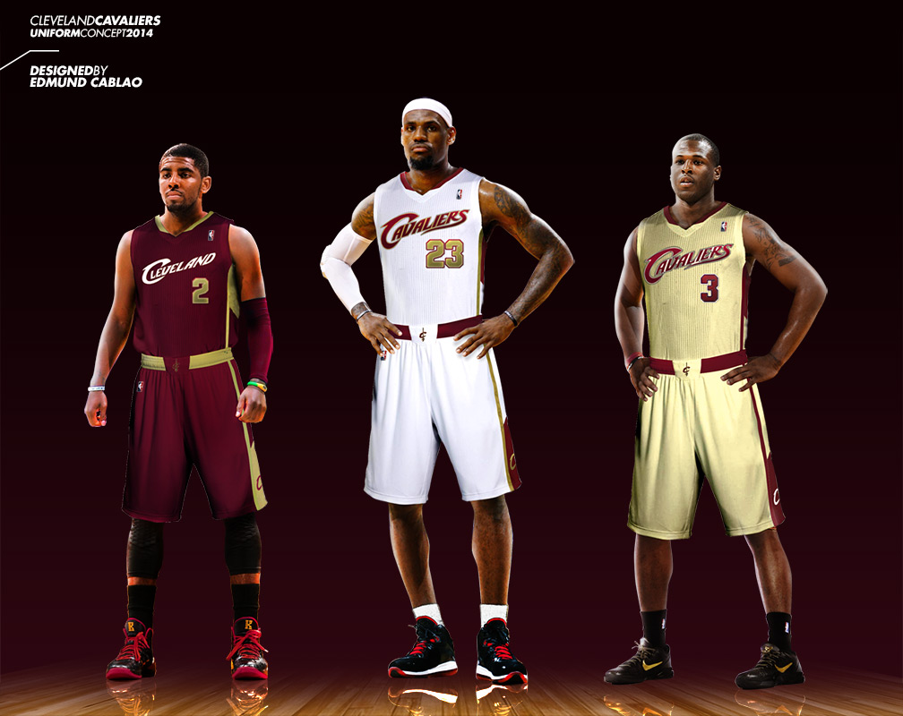 Uni Watch: Cleveland Cavaliers redesign results