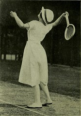 """Image from page 37 of """"Lawn tennis for girls"""" (1920)"""