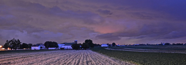 Amish Country sunset - Amish Tour - Lancaster County PA
