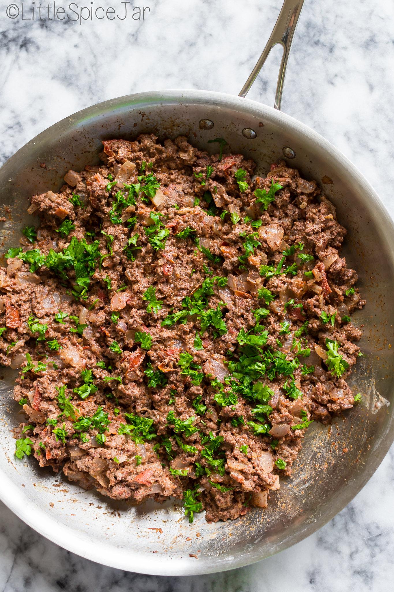 Lebanese Meat Pies (Sfeeha or Sfiha) 14