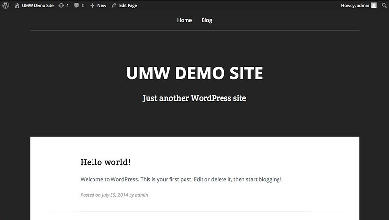 WordPress Themes ** [Documentation]