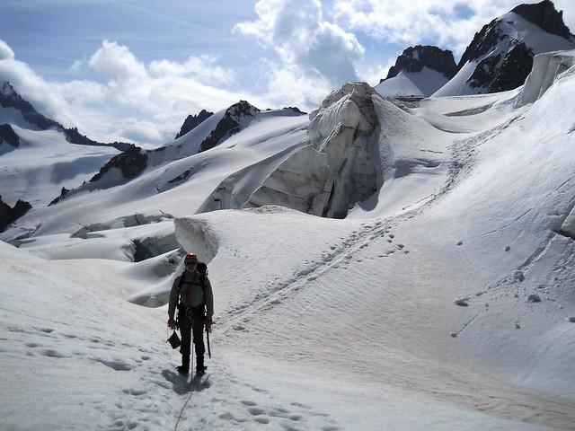 Vallée Blanche Crevasses