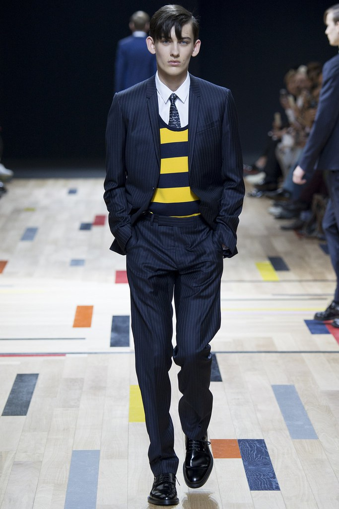 SS15 Paris Dior Homme008_Bartek Stokowiec(VOGUE)