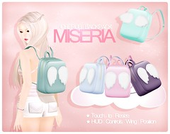 [Miseria] Cherub Backpacks