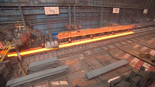 中鋼的乾式淬火設備可省水節能