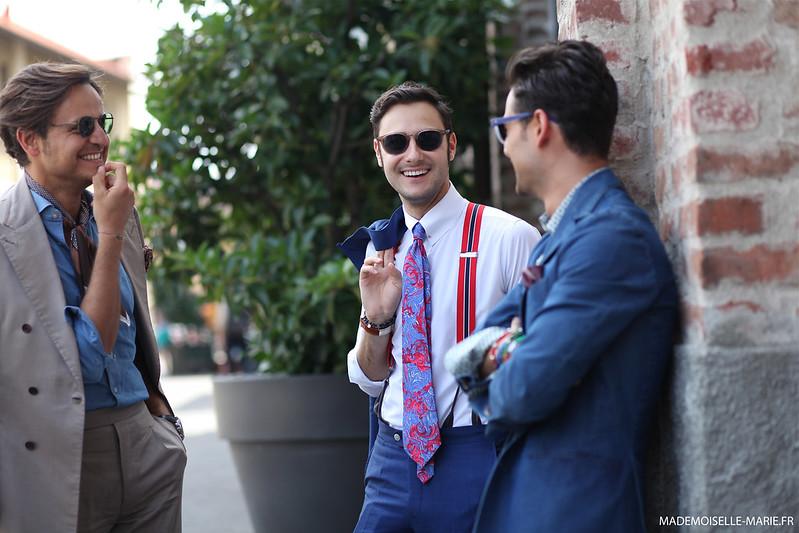 Federico Lapo Bonini at Milan Fashion Week day 4