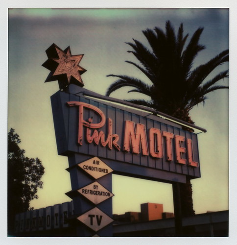 california road ca pink sunset toby sun color tree film silhouette sign by project polaroid sx70 for star la tv los san neon angeles air motel palm tip cameras valley type fernando instant sonar hancock impossible the refrigeration conditioned sx70sonar impossibleproject tobyhancock impossaroid