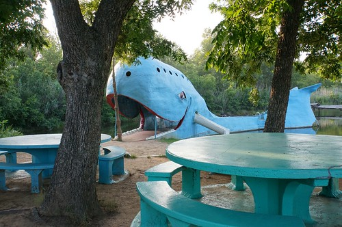 Blue Whale - Route 66, Catoosa, Oklahome