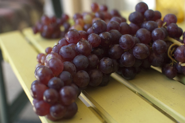 california champagne grapes