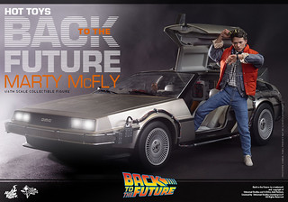 Hot Toys – MMS257 – 回到未來【馬帝】1/6 比例 Marty McFly Back To The Future