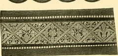 """Image from page 463 of """"Decorative textiles; an illustrated book on coverings for furniture, walls and floors, including damasks, brocades and velvets, tapestries, laces, embroideries, chintzes, cretones, drapery and furniture trimmings, wall papers, carp"""